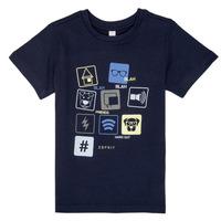 Oblačila Dečki Majice s kratkimi rokavi Esprit ENZIEO Modra