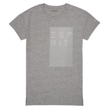Oblačila Deklice Majice s kratkimi rokavi Esprit EVELYNE Siva