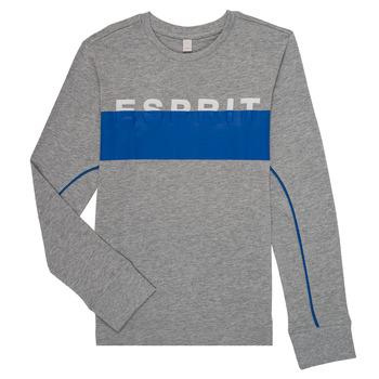 Oblačila Dečki Majice z dolgimi rokavi Esprit FABIOLA Siva
