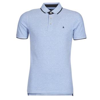 Oblačila Moški Polo majice kratki rokavi Jack & Jones JJEPAULOS Modra