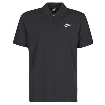 Oblačila Moški Polo majice kratki rokavi Nike M NSW CE POLO MATCHUP PQ Črna / Bela