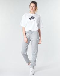 Oblačila Ženske Spodnji deli trenirke  Nike W NSW ESSNTL PANT REG FLC Siva / Bela