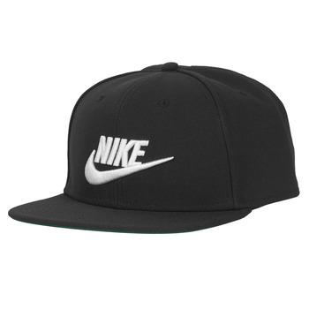 Tekstilni dodatki Kape s šiltom Nike U NSW PRO CAP FUTURA Črna