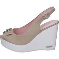 Čevlji  Ženske Sandali & Odprti čevlji Lancetti BP560 Bež