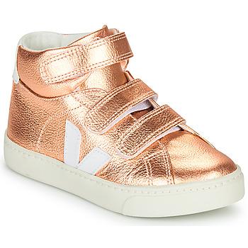 Čevlji  Deklice Visoke superge Veja SMALL-ESPLAR-MID Rožnata
