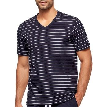 Oblačila Moški Pižame & Spalne srajce Impetus GO41024 039 Modra