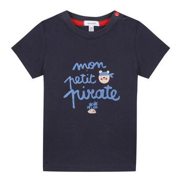 Oblačila Dečki Majice s kratkimi rokavi Absorba NADINE Modra