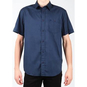 Oblačila Moški Srajce s kratkimi rokavi Wrangler S/S 1PT Shirt W58916S35 navy