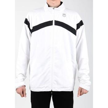 Oblačila Moški Športne jope in jakne K-Swiss Accomplish WVN JCKT 100627-102 white, black
