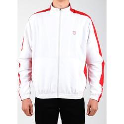 Oblačila Moški Športne jope in jakne K-Swiss Accomplish Jacket 100250-119 white, red