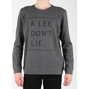Oblačila Moški Majice z dolgimi rokavi Lee Dont Lie Tee LS L65VEQ06 grey