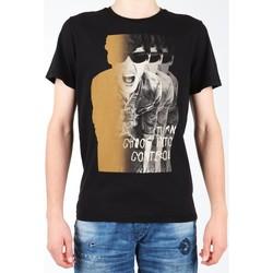 Oblačila Moški Majice s kratkimi rokavi Lee Photo Tee Black L60BAI01 black