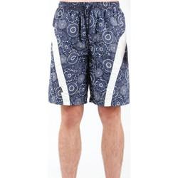 Oblačila Moški Kratke hlače & Bermuda Zagano 5603-115 navy , white