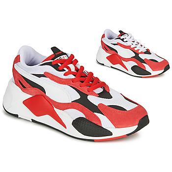 Čevlji  Nizke superge Puma RS-X3 Rdeča / Bela