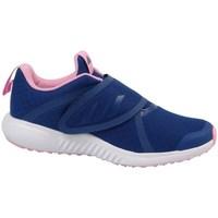 Čevlji  Deklice Tek & Trail adidas Originals Fortarun X CF K Rumena,Mornarsko modra