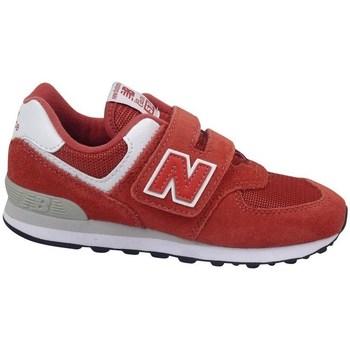 Čevlji  Otroci Nizke superge New Balance YV574EC Rdeča