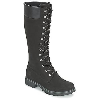 Čevlji  Ženske Mestni škornji    Timberland WOMEN'S PREMIUM 14IN WP BOOT Črna / Nubuck