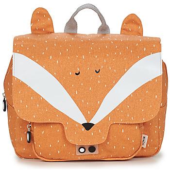 Torbice Otroci Šolska torba TRIXIE MISTER FOX Oranžna