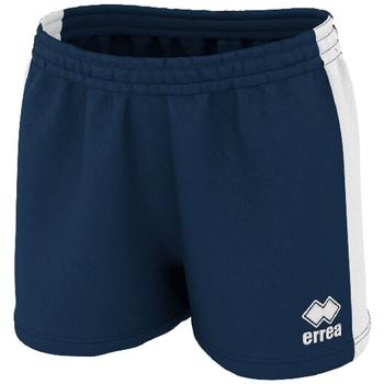 Oblačila Ženske Kratke hlače & Bermuda Errea Short femme  Carys 3.0 bleu marine