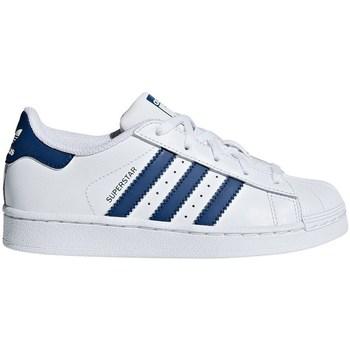 Čevlji  Dečki Nizke superge adidas Originals Superstar C Bela