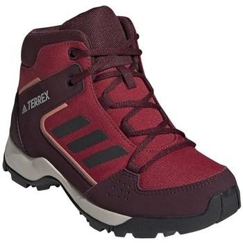 Čevlji  Otroci Pohodništvo adidas Originals Hyperhiker K Bordo rdeča,Rdeča
