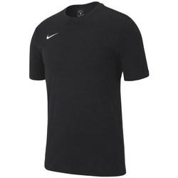 Oblačila Dečki Majice s kratkimi rokavi Nike JR Team Club 19 Črna