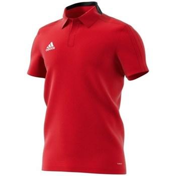 Oblačila Moški Polo majice kratki rokavi adidas Originals Condivo 18 Polo Rdeča
