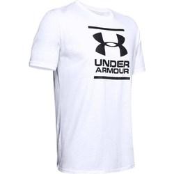 Oblačila Moški Majice s kratkimi rokavi Under Armour GL Foundation SS Bela