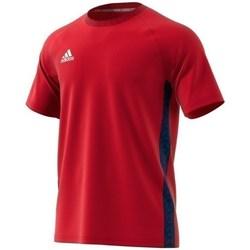Oblačila Moški Majice s kratkimi rokavi adidas Originals Tango Tape Tee Rdeča
