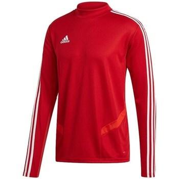 Oblačila Moški Majice z dolgimi rokavi adidas Originals Tiro 19 Training Top Rdeča