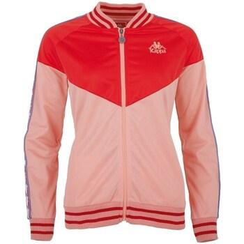 Oblačila Ženske Športne jope in jakne Kappa Clive Jacket Rdeča, Roza