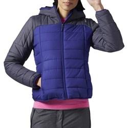 Oblačila Ženske Puhovke Reebok Sport FW Padded Bomber Modra, Mornarsko modra