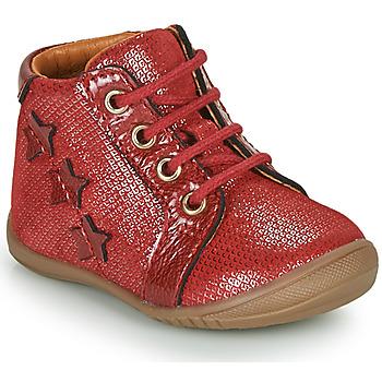 Čevlji  Deklice Polškornji GBB DAVIA Rdeča