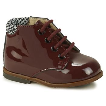 Čevlji  Deklice Visoke superge GBB TACOMA Rdeča