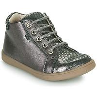 Čevlji  Deklice Visoke superge GBB FAMIA Siva