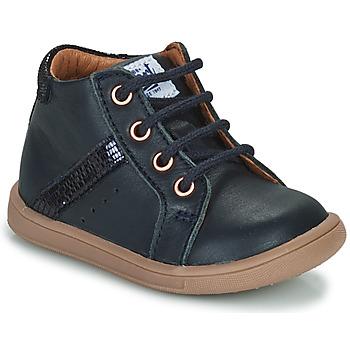 Čevlji  Deklice Visoke superge GBB AGLAE Modra