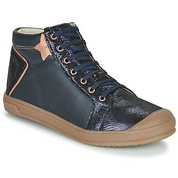 Čevlji  Deklice Visoke superge GBB ORENGETTE Modra