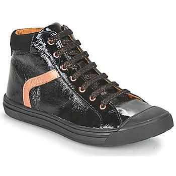 Čevlji  Deklice Visoke superge GBB VIVENA Črna