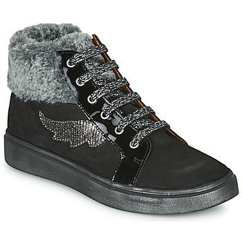 Čevlji  Deklice Visoke superge GBB NUMA Črna