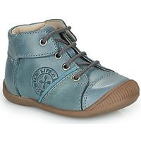 Čevlji  Dečki Visoke superge GBB OULOU Modra