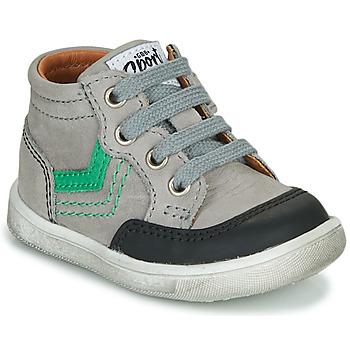 Čevlji  Dečki Visoke superge GBB VIGO Siva