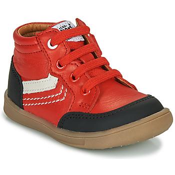 Čevlji  Dečki Visoke superge GBB VIGO Rdeča