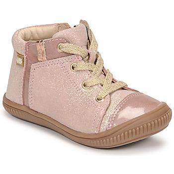 Čevlji  Deklice Visoke superge GBB OUNA Rožnata