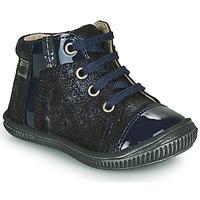 Čevlji  Deklice Visoke superge GBB OUNA Modra