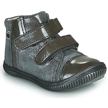Čevlji  Deklice Visoke superge GBB ODITA Siva