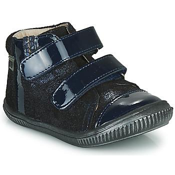 Čevlji  Deklice Visoke superge GBB ODITA Modra