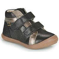 Čevlji  Deklice Visoke superge GBB EDEA Črna