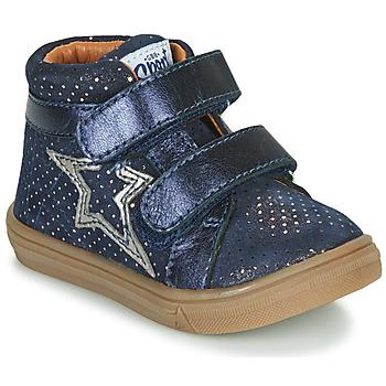 Čevlji  Deklice Visoke superge GBB OHANE Modra