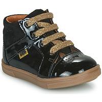 Čevlji  Deklice Visoke superge GBB THEANA Črna