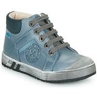 Čevlji  Dečki Visoke superge GBB OLANGO Modra